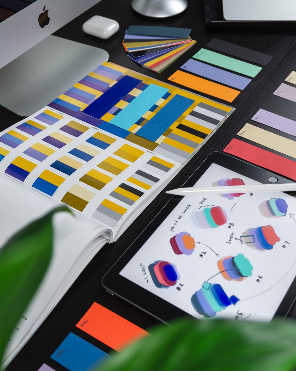wzory kolorów